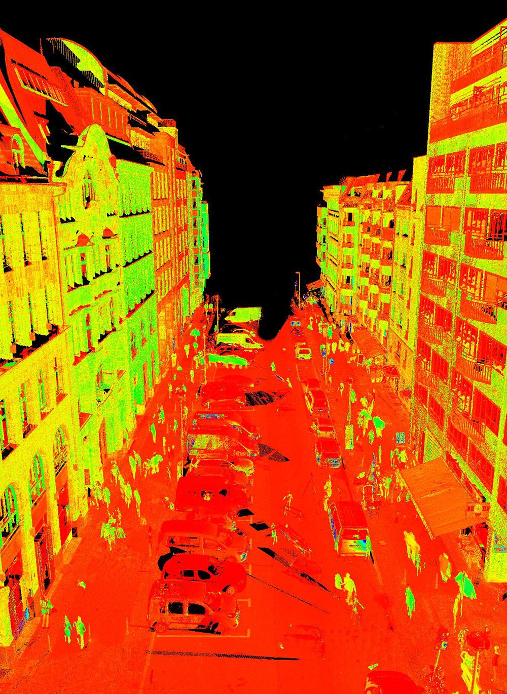 Laserscan Vermessung 1